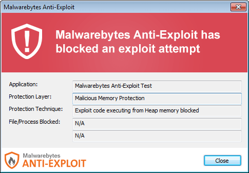 Malwarebytes Anti-Exploit Beta 1.11.1.40