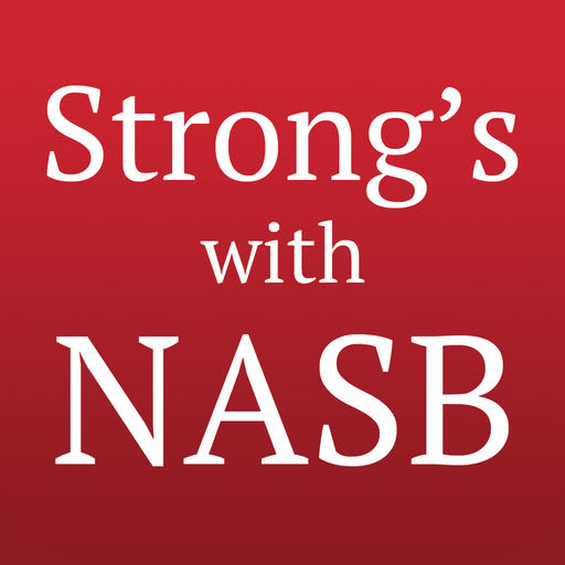 Strong's Concordance with NASB 7.12.2