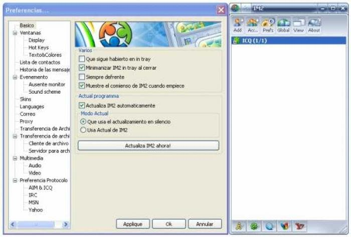 Instant Messenger 2 (IM2) Spanish Language Pack