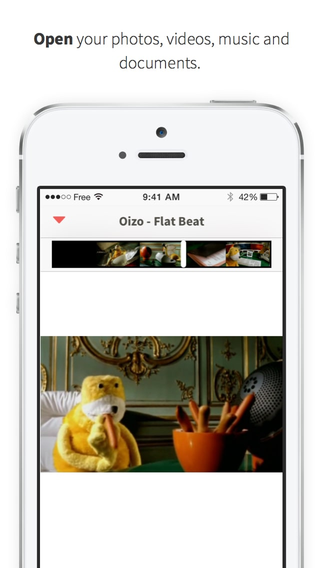 Unlimited photo, video and file transfer by Infinit