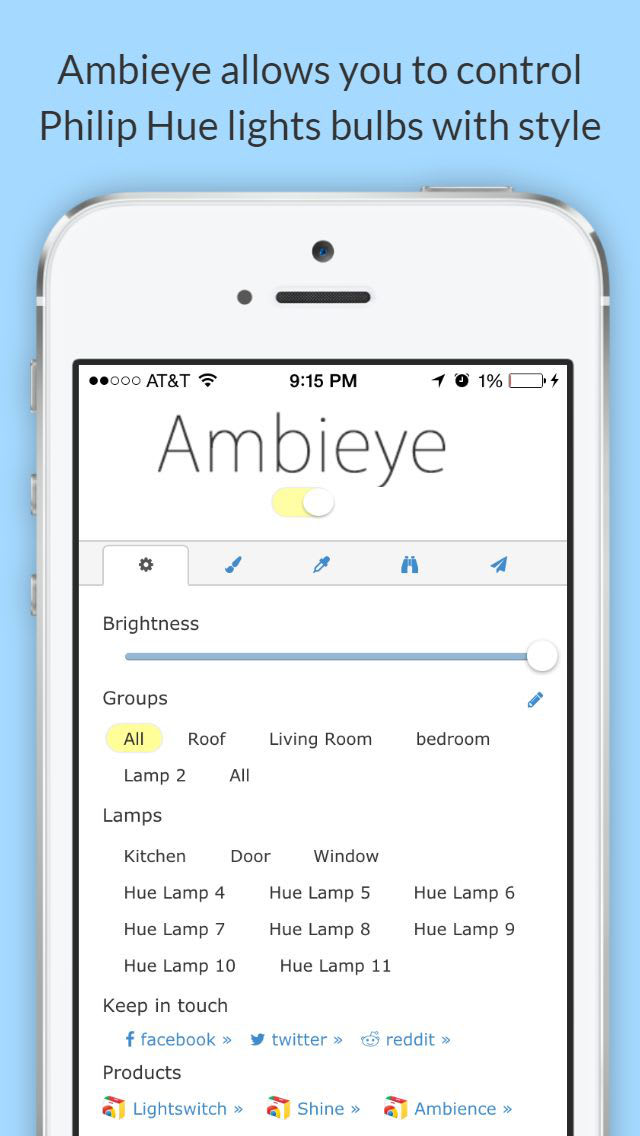 Ambieye for Philips Hue