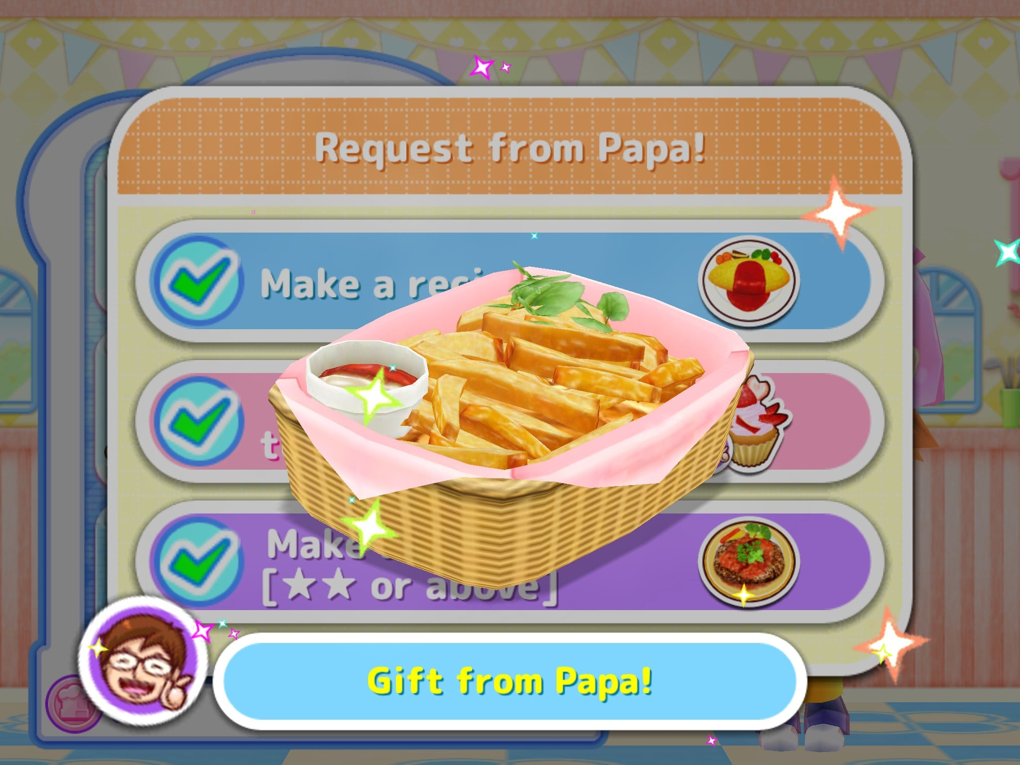 Cooking mama let 39 s cook for iphone download for Cuisine ds