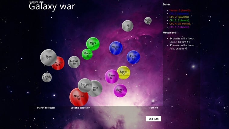Galaxy War for Windows 10