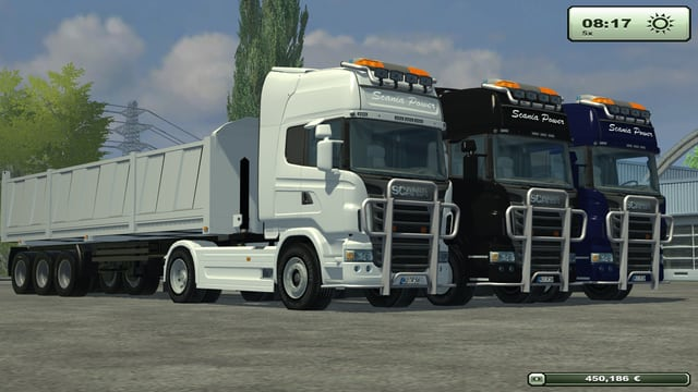Scania 560 PACK + Trailer Pack