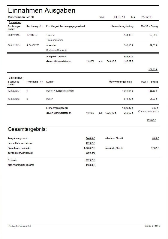 HTH - Rechnungen