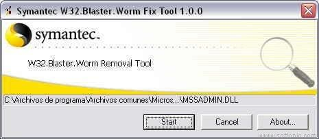 Blaster Worm Removal Tool
