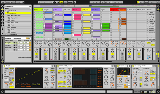 ABLETON LIVE - cover