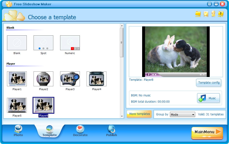 Free Slideshow Maker Download