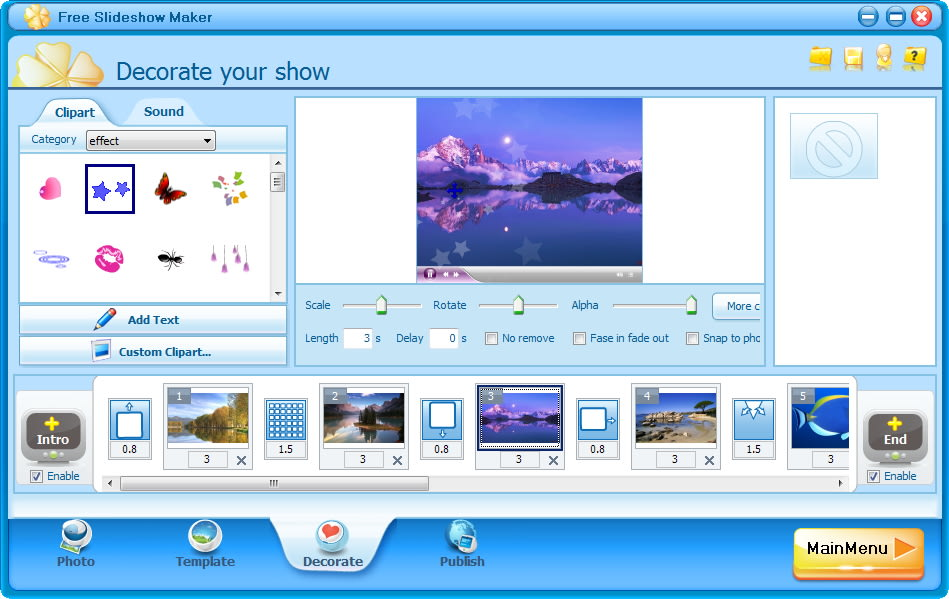 Make A Video Slideshow Online Free