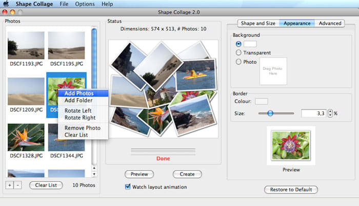 Shape Collage for Mac - Download