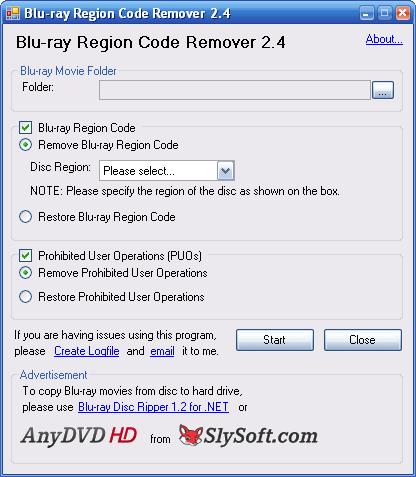 Blu-ray Region Code Remover
