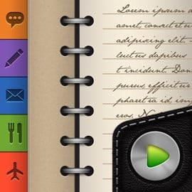 Groovy Notes - Text, Voice Notes & Digital Organizer varies-with-device