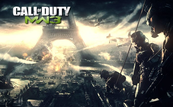 Call of Duty: Modern Warfare 3 Wallpaper Paris