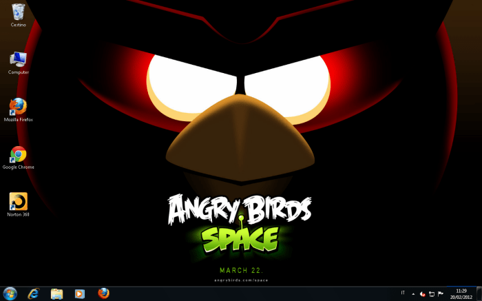 angry birds space wallpaper download