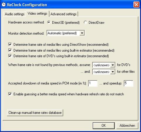 ReClock 1.6