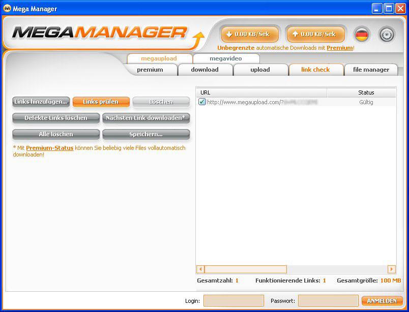 Mega Manager