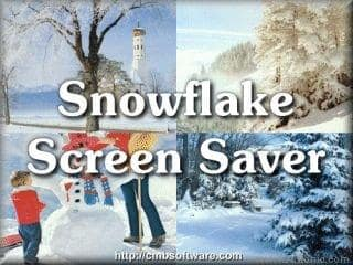 Snowflake Screen Saver