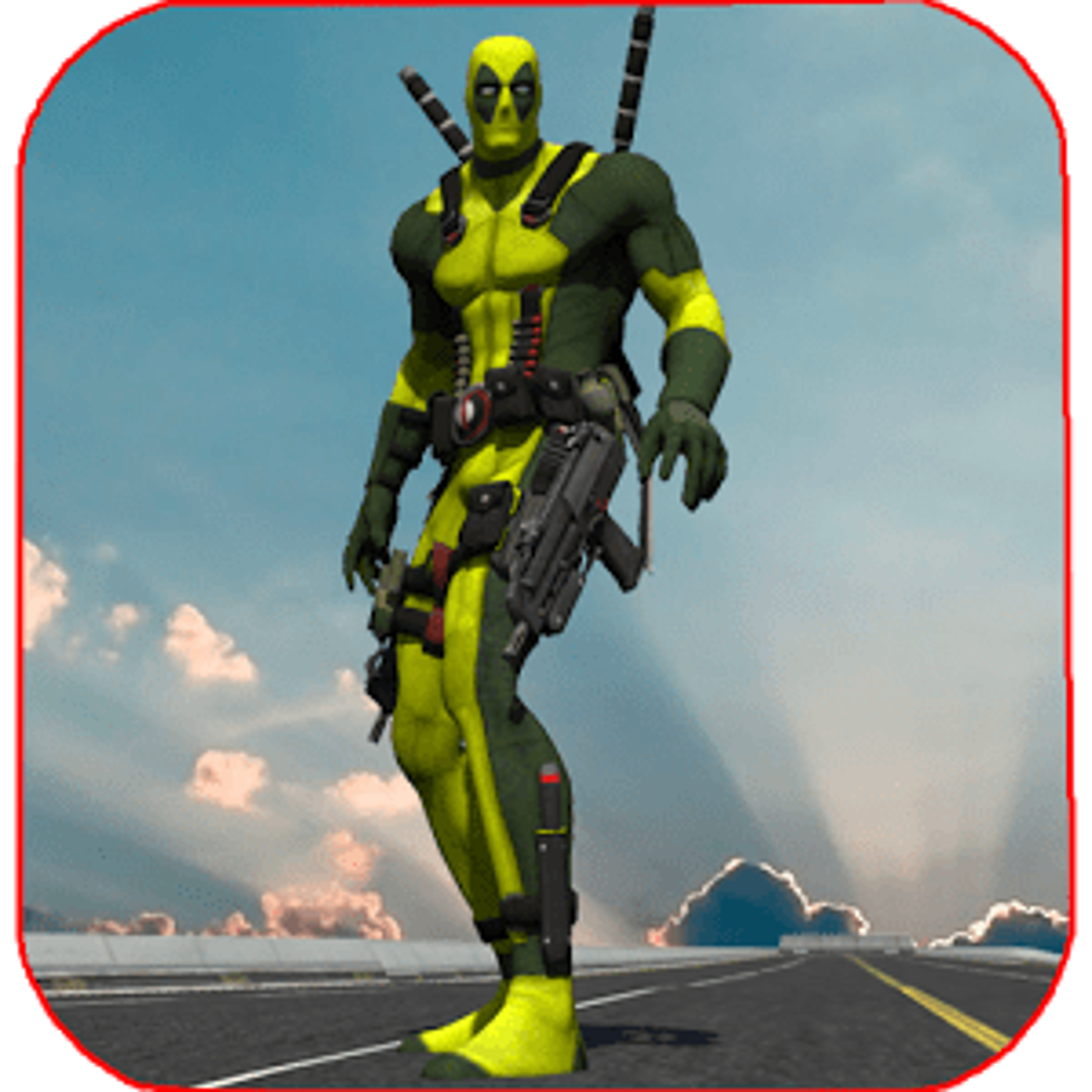 Rope Man VS Superhero Robot 1.0