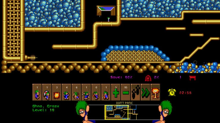 Lemmings for Windows 10