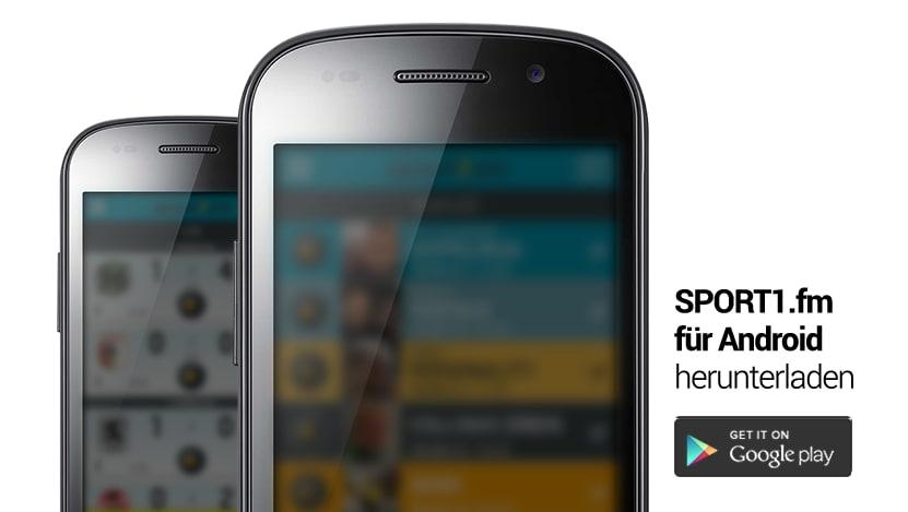 Sport1.fm für Android - Download
