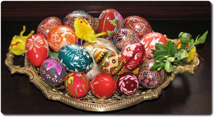 Tapety Wielkanocne Pisanki
