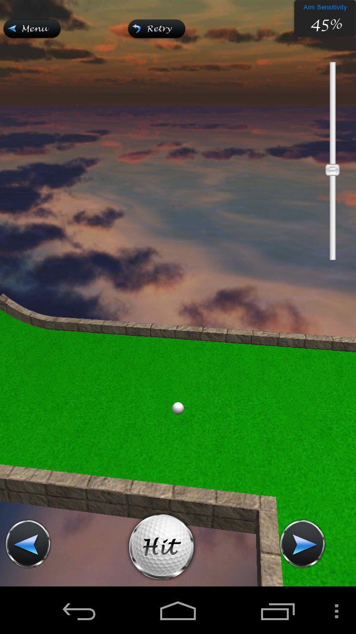 Mini Golf Sterne 3D: Putt Putt