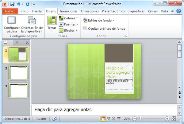 MICROSOFT OFFICE 2010 - Powerpoint 2010