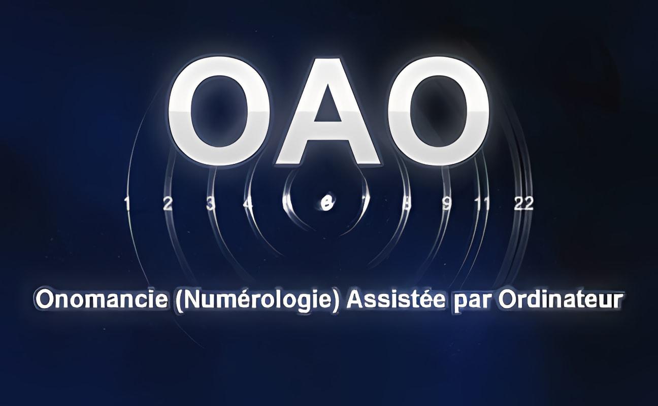 OAO Onomancie (numérologie) Assistée par Ordinateur