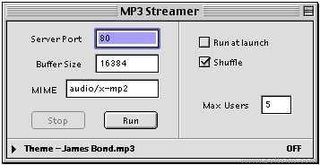 MP3 Streamer