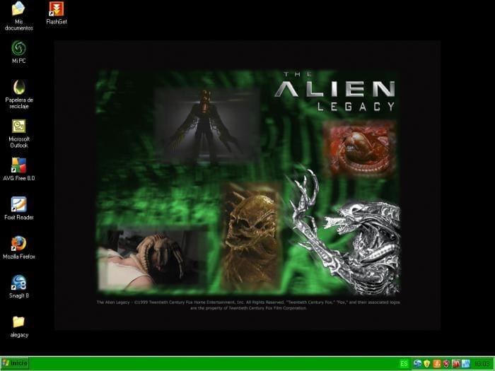 Alien Legacy Theme