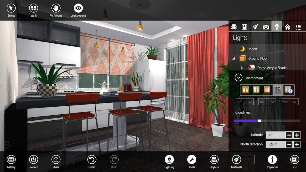 Live interior 3d free para windows 10 windows download for Room design app using photos