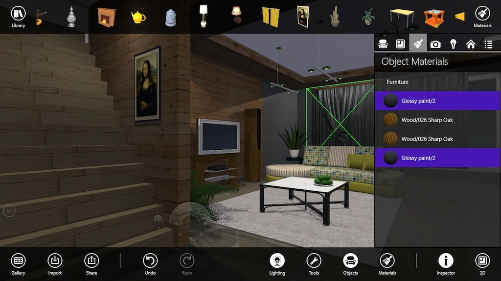 Live interior 3d free para windows 10 windows descargar for Programa diseno interiores 3d