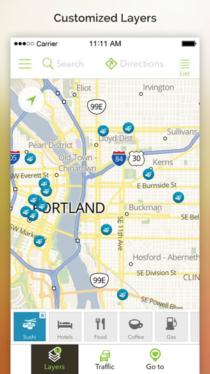 MapQuest For IPhone Download - Mapquest free us maps by google