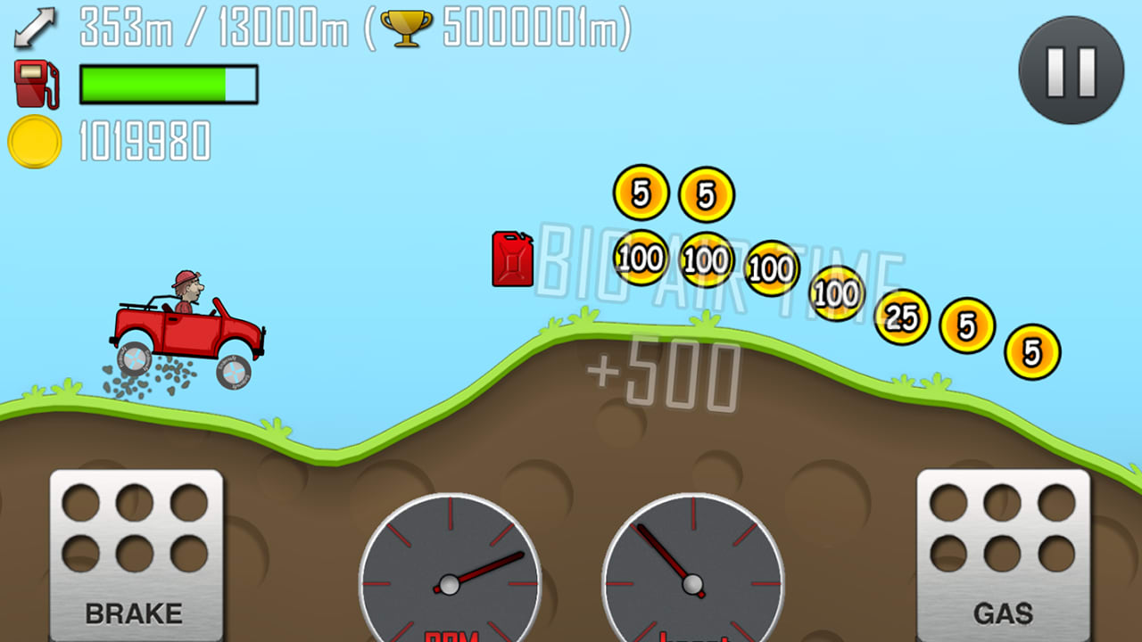 Hill Climb Racing Spielen