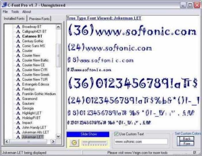 C-font Pro
