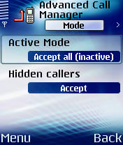 Advanced Call Manager