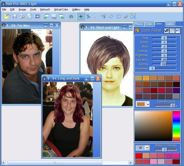 Hair Master Download - Hair colour editor download