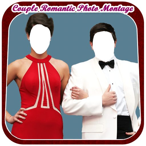 Couple Romantic Photo Montage