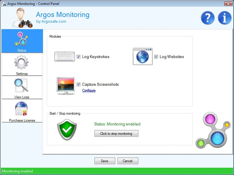 Argos Monitoring