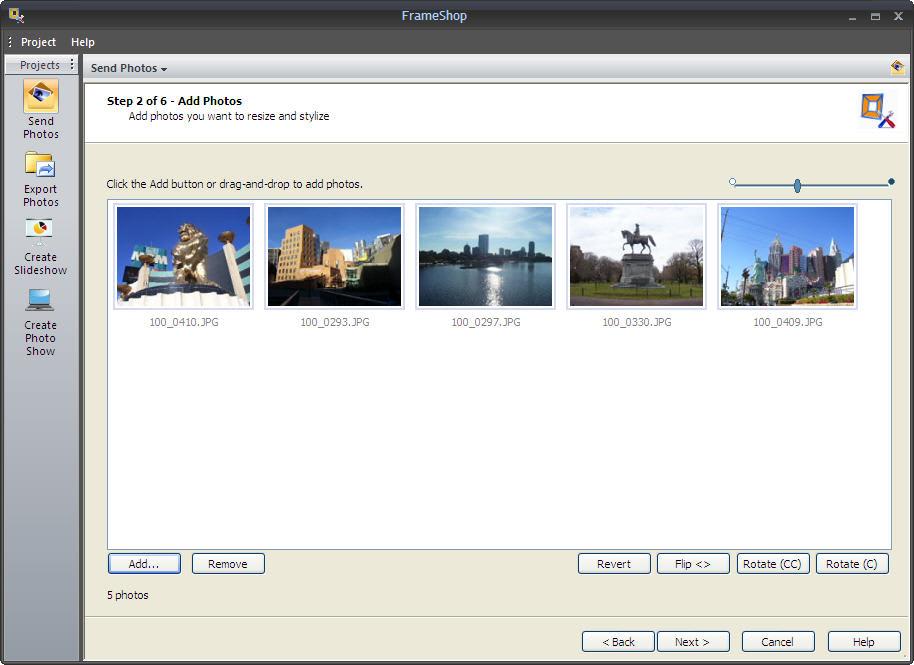 FileStream FrameShop