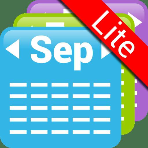 Month Calendar Widget Lite