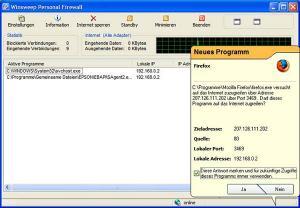 Winsweep Personal Firewall
