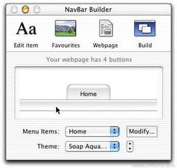 NavBar Builder