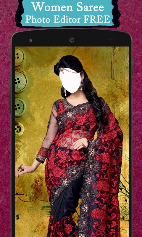 Women Saree Photo Editor FREE