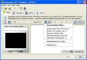 Advanced Screensaver DIY