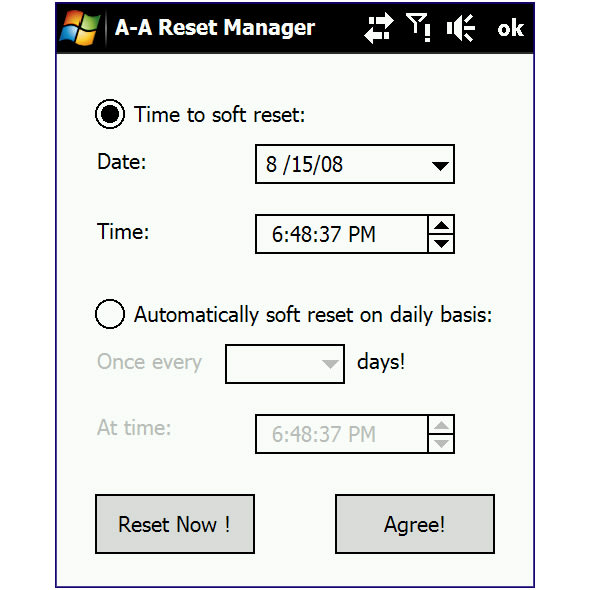 A-A Reset Manager