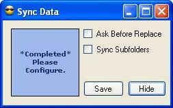 Sync Data