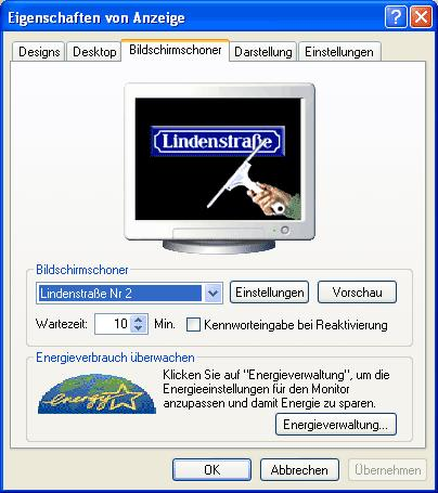 Lindenstraße Bildschirmschoner