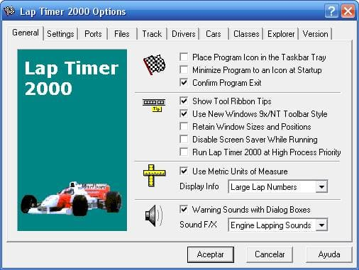 Laptimer 2000 >> Lap Timer Download