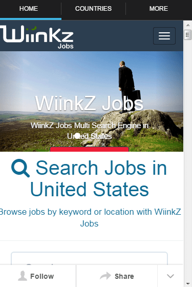 Job Search Wiinkz